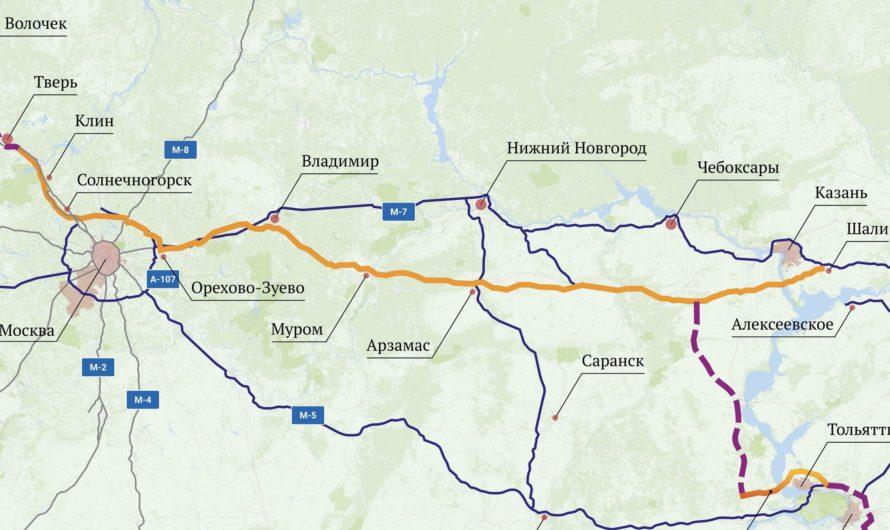 94 километра трассы «Европа – Западный Китай» пройдут по территории Чувашии