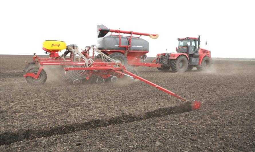 В хозяйствах республики посеяно 114,6 тыс. га яровых зерновых культур