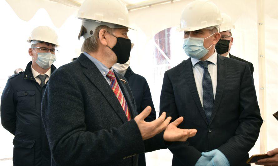 По принципу «лего»: в Чувашии возводят завод объемно-блочного домостроения