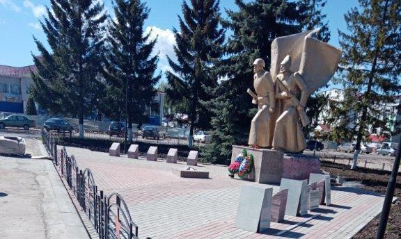 Красночетайский район в рамках подготовки к празднованию Дня Республики благоустраивает общественные территории