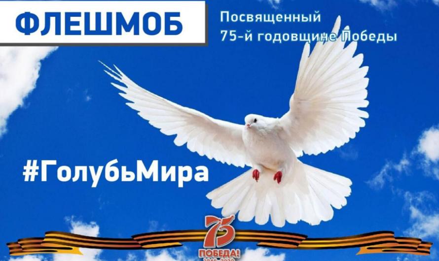 Жителей Чувашии приглашают присоединиться к флешмобу «Голубь мира»