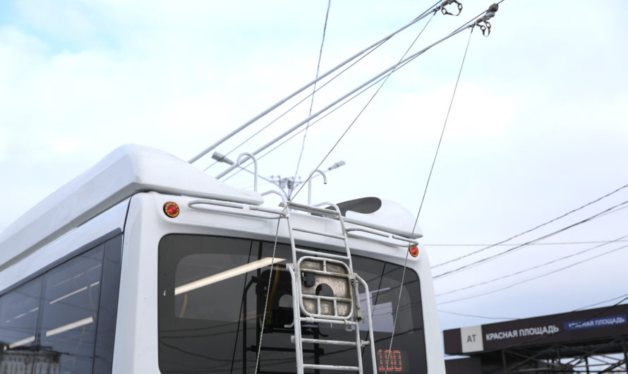 В Чувашии скоро начнут курсировать новые троллейбусы