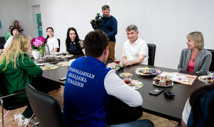 Молодежь Чувашии поддерживает Олега Николаева