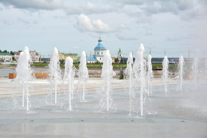 фонтан на красной площади чебоксары