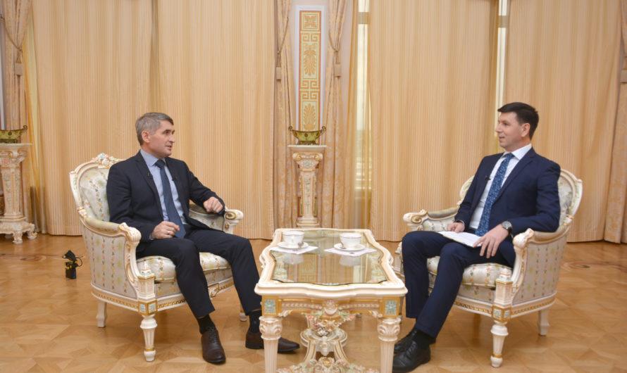 Олег Николаев дал первое большое интервью на чувашском языке