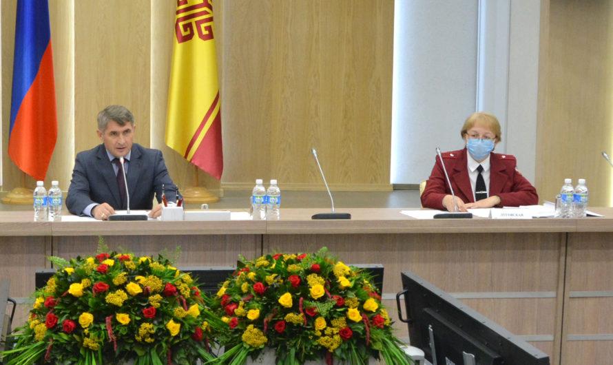 Надежда Луговская предложила перейти на I этап снятия ограничений в Чувашии