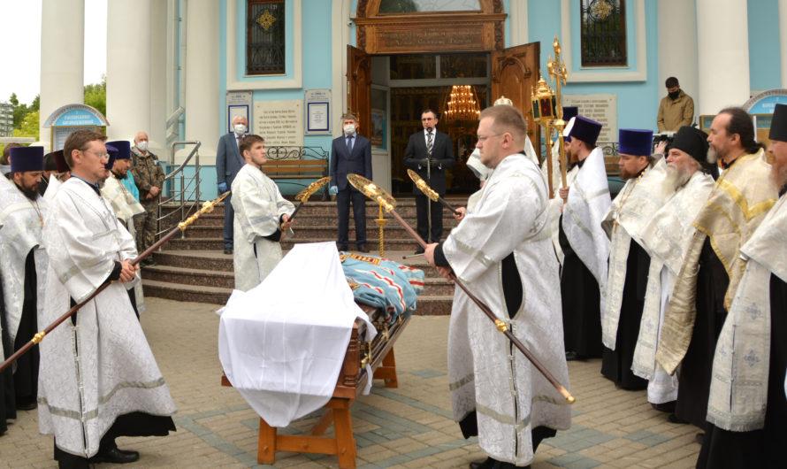 Чувашия простилась с митрополитом Варнавой