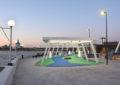 Обновленная Красная площадь в Чебоксарах