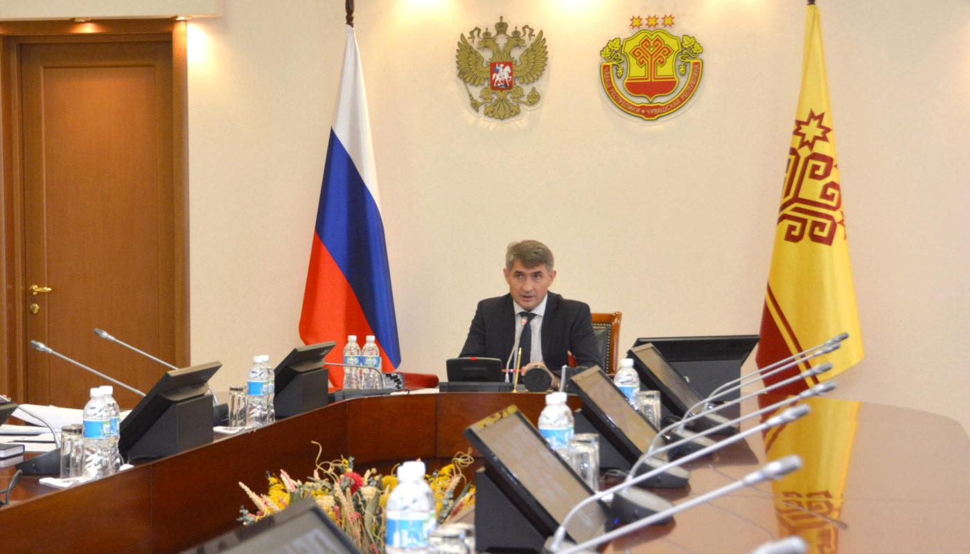 Олег Николаев призвал политические силы к обсуждению программы развития Чувашии