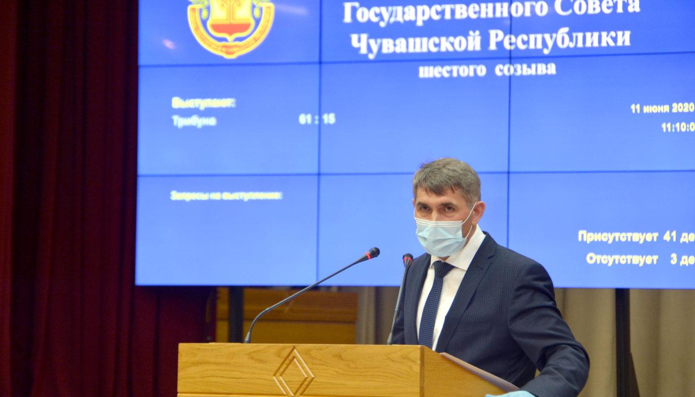 Олег Николаев врио Главы Чувашии