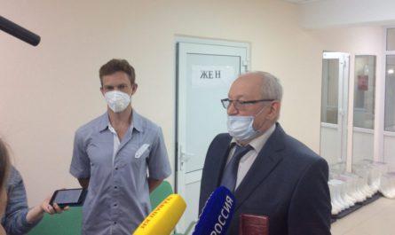 Фонд Перле передал медицинское оборудование