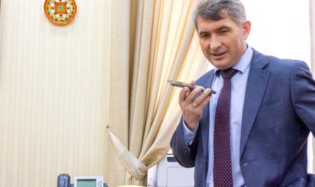 Учитель из Чувашии получил личные поздравления от Олега Николаева