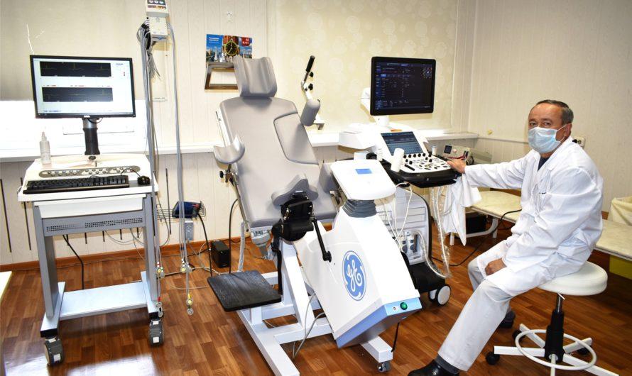 В Республиканский кардиодиспансер поступило новейшее медоборудование