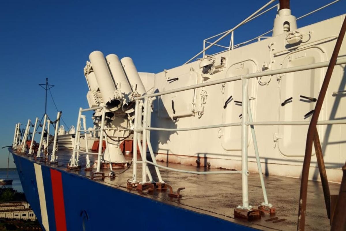 «Чебоксары»: корабль с легендами