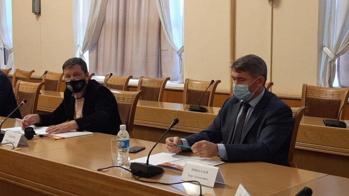 Олег Николаев на встрече с кандидатами на пост главы Чувашии