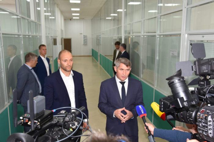 Олег Николаев на НПО «ЭКРА»