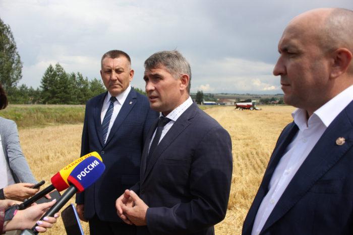 В Чувашской Республике начались уборочные сельхозработы