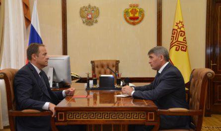 Олег Николаев рассказал Игорю Комарову как регион сохранил баланс в экономике