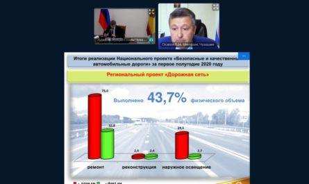 Олег Николаев поручил проработать вопрос содержания автодорог