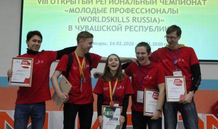 конкурс «Молодые профессионалы» 2020 год