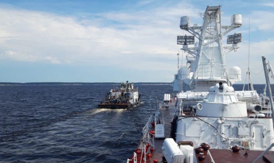 Прибытие корабля «Чебоксары» смотрите 15 июля в прямом эфире
