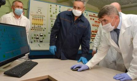 Новую производственную линию Чувашхлебопродукта запустили с компьютера