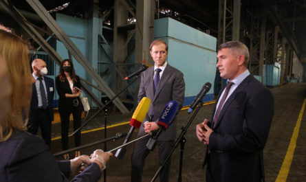 Минпромторг России поддержал 34 промышленных проекта из Чувашии