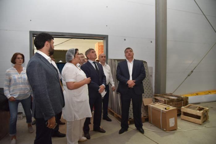 В Ибресинском районе руководство молочного завода ставит амбициозные цели