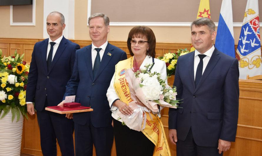 Олег Николаев принял участие в чествовании Почетного гражданина города Чебоксары