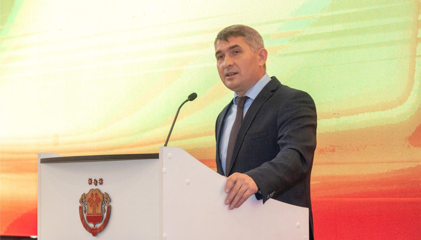Олег Николаев поприветствовал полуфиналистов конкурса «Управленческая команда»