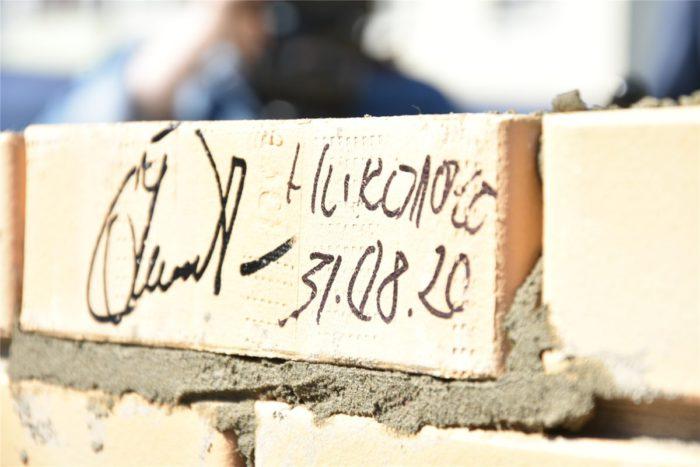 В церемонии закладки первого камня в строительство крупнейшей школы в Чувашии принял Олег Николаев