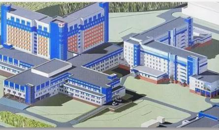 В Чебоксарах новая многопрофильная больница на 1000 мест будет построена по готовому проекту