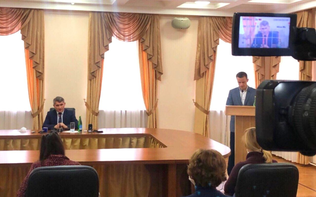 Олег Николаев вступит в должность 22 сентября