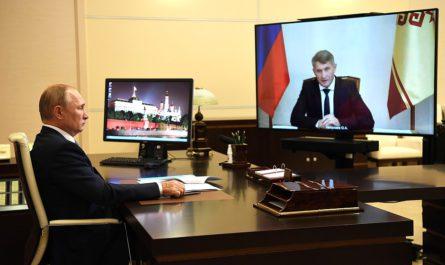 На встрече с Путиным врио Главы Чувашии озвучил предложение по снижению в регионе смертности от сердечно-сосудистых заболеваний