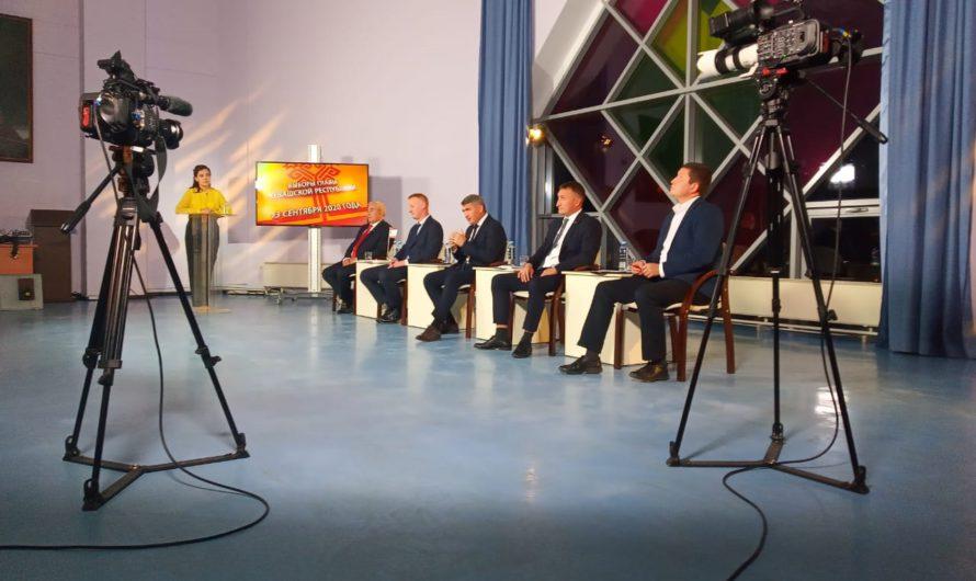 На площадке НТРК закончились дебаты кандидатов на пост Главы Чувашии