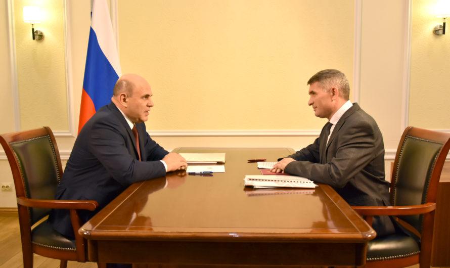Михаил Мишустин и Олег Николаев обсудили социально-экономическое развитие Чувашии