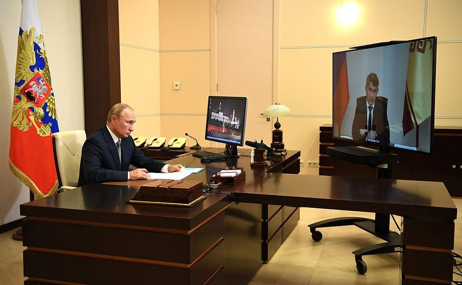 Рабочая встреча с врио главы Чувашии Олегом Николаевым