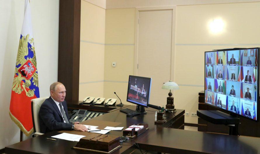 Владимир Путин – избранным главам регионов: «вкалывать» на 100% и добиваться реальных результатов