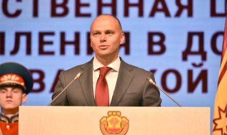 Минпромторг России «ПЕРЛЕ» с Главой Чувашской Республики