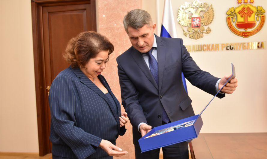 Чувашия встретила посла Никарагуа в России национальным колоритом и договорилась сотрудничать