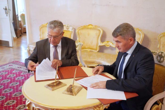 Олег Николаеви Александр Сергеев подписали соглашение о сотрудничестве
