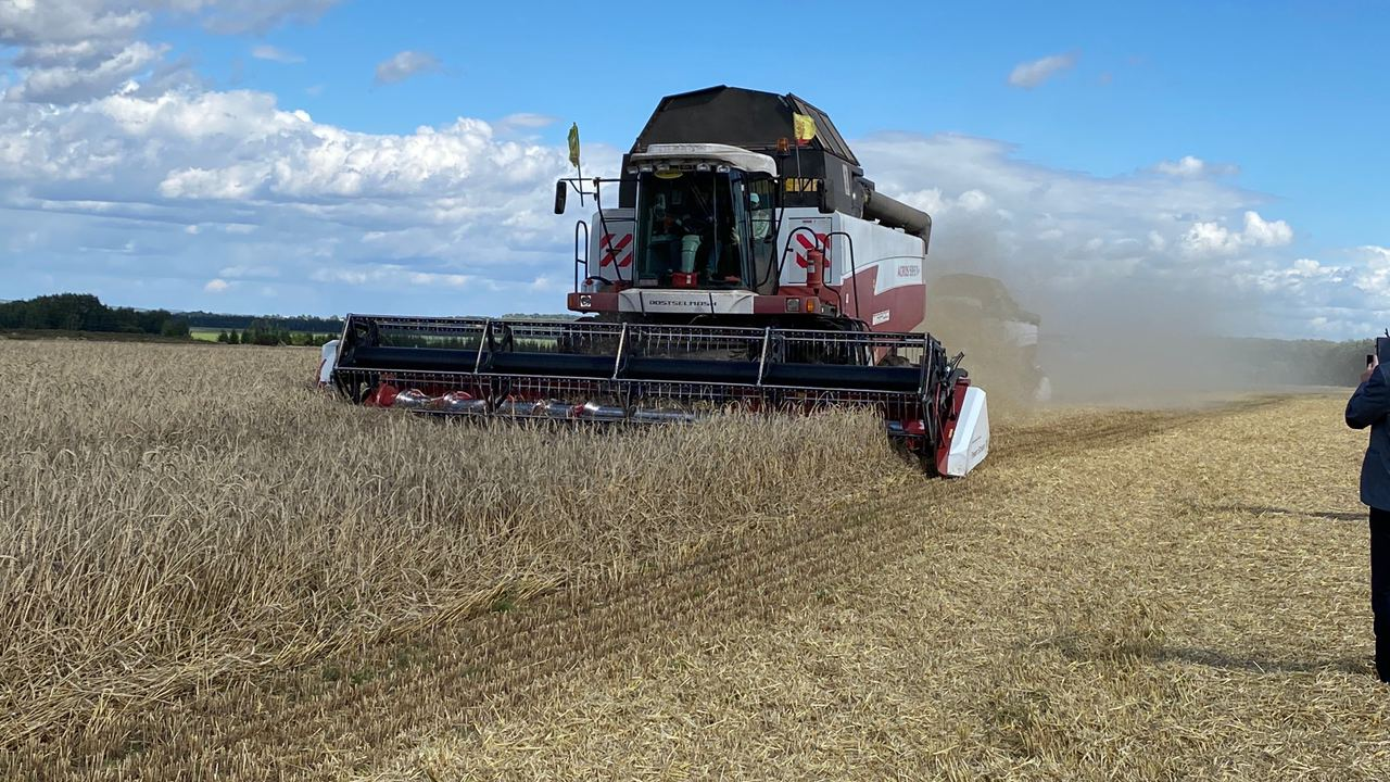 Чувашские аграрии планируют побить рекорд урожая 1992 года