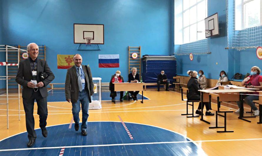 Работа избирательных участков Чувашии под контролем Общественной палаты и коллегии адвокатов Москвы