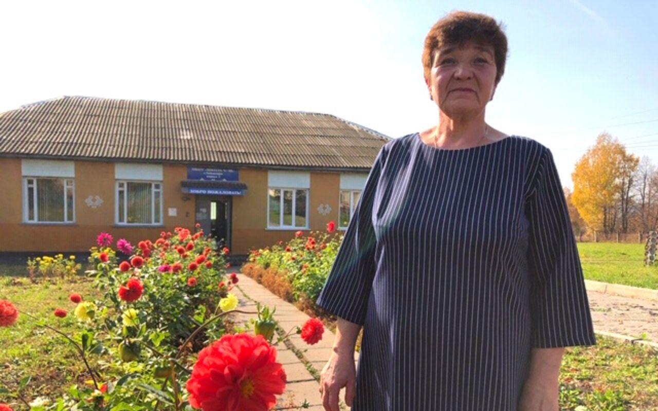 Первая учительница Олега Николаев снова учит первоклашек