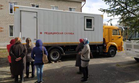 Передвижной маммограф проработает в Красночетайской районной больнице до 22 октября