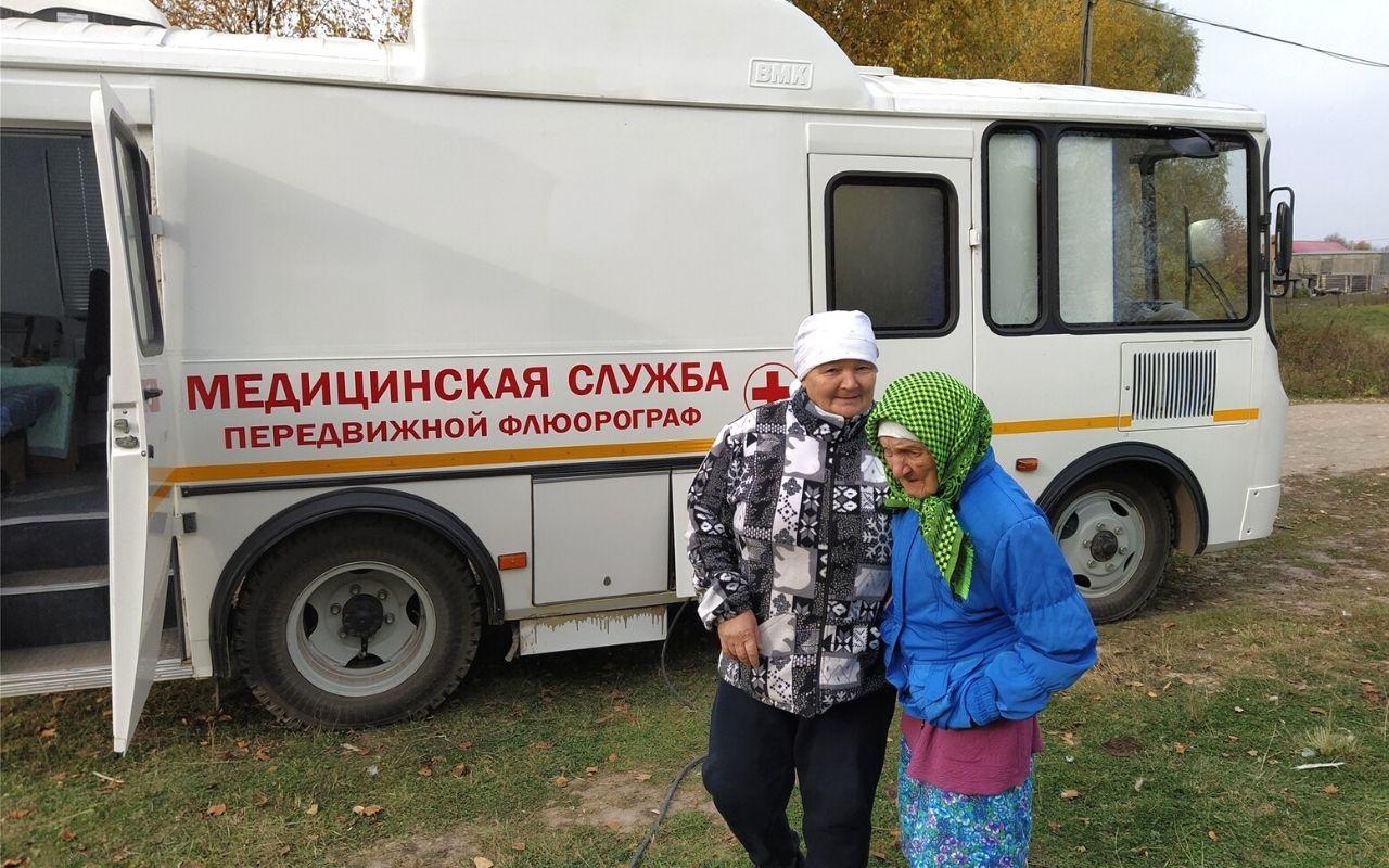 Нацпроект «Здравоохранение» в действии: в Красночетайском районе работает передвижной флюорограф