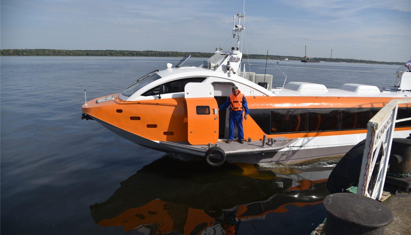 В следующем году в Чувашию могут приплыть два «Валдая»