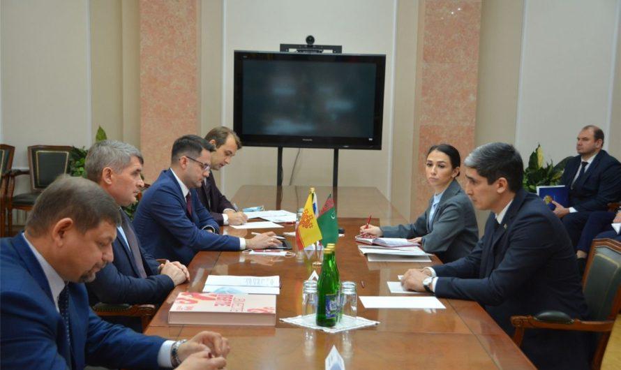 Чувашия и Туркменистан усиливают сотрудничество сразу по нескольким направлениям