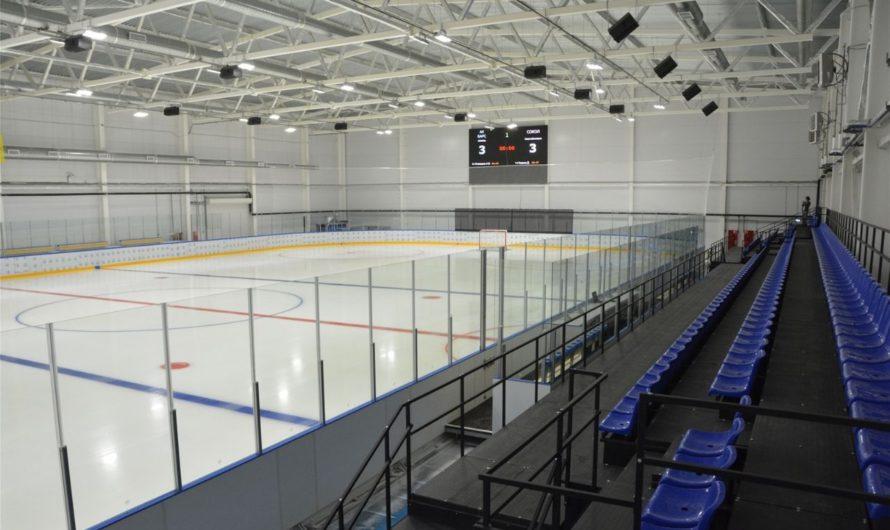 В Региональном центре по хоккею в Чебоксарах могут заниматься более 300 человек в сутки