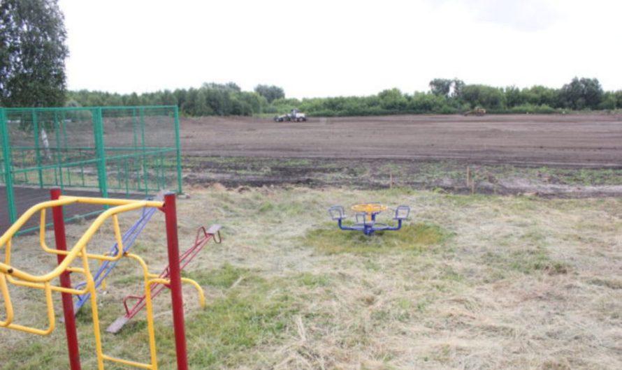Футбольное поле в Яльчиках в этом году не будет сдано